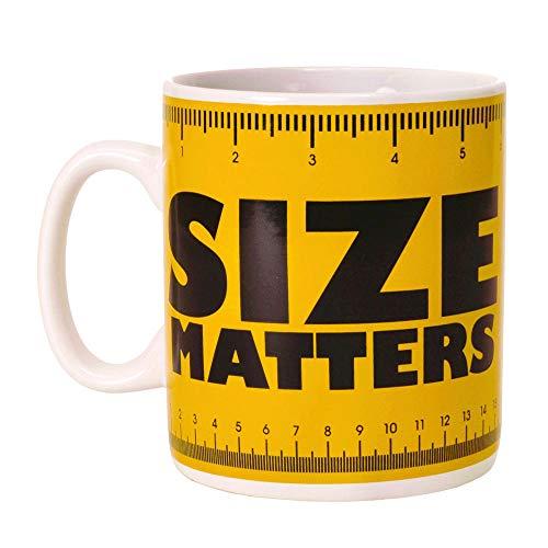 Size Matters XXL Kaffeebecher - Kaffeetasse