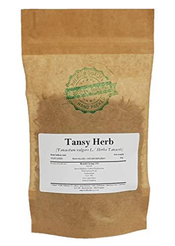 Rainfarn Kraut / Tanacetum Vulgare L / Tansy Herb # Hebra Organica # Wurmkraut, Drefot, Drusenkrud (50g)
