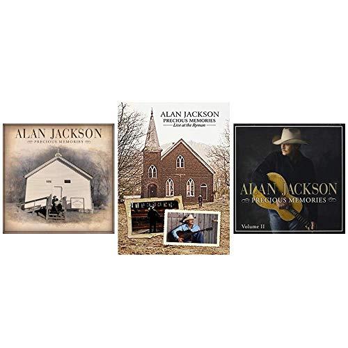 Alan Jackson: Precious Memories Volumes 1 & 2 CDs + Live at the Ryman DVD