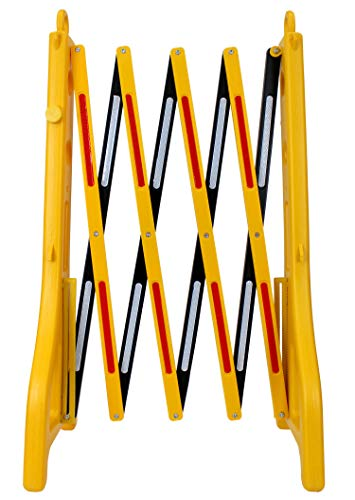 RK Safety RK-EXB1 Expandable Barricade System,Safety Barrier Gate,38' Tall - 8' 2' Max Width