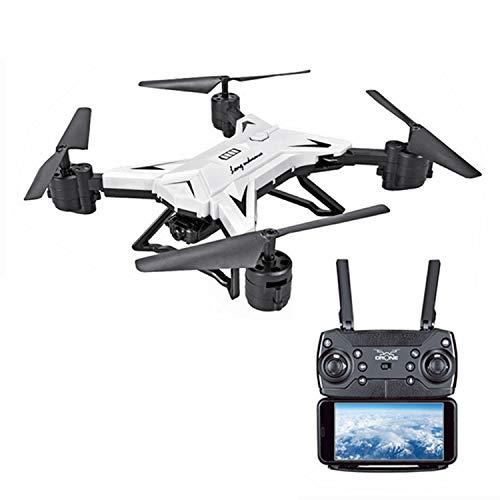 XIAOKEKE 601S Drone con Telecamera HD 4K Drone Pieghevole WiFi FPV Drone Professionale Quadricottero Telecomando Sospensione Altitudine Un Pulsante di Decollo Atterraggio,Bianca