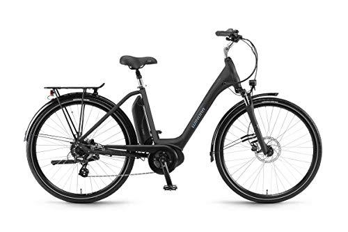 Winora E-Bike Sima 7 dames ACTIVE 400 Wh 26 inch 7 V zwart mat maat 46 2018 (elektrische fiets) / E-Bike Sima 7 Woman Active 400 Wh 26 inch 7s zwart mat maat 46 2018 (Electric City Bike)