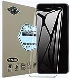 Aidinar. 2 Paquete, Protector de Pantalla Sony Xperia 10 III, Cristal Templado [9H Dureza][Alta Definición] Cuerpo Completo Protector para Sony Xperia 10 III