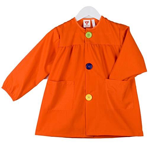 KLOTTZ - BABI LISO GUARDERIA Niñas color: NARANJA talla: 2