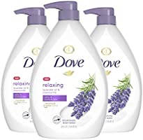 Dove Relaxing Body Wash Pump Calms & Comforts Skin Lavender Oil and Chamomile Effectively Washes Away Bacteria While...
