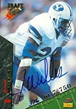 Autograph Warehouse 65053 Jamal Willis Autographed Football Card Brigham Young 1995 Signature Rookies No. 77