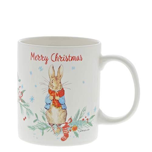 Beatrix Potter A30187 Peter Rabbit - Taza de cristal, diseño de conejo