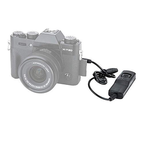 JJC Fernauslöser mit Kabel, für Fujifilm X-PRO3/ X-T4/ X-T3/ X-T2/ X-T1/ X-H1/ X-T30/ X-T20/ X-T100/ XF10/ X-A5/ X100V/ X100F/ XF10 etc. Kamera – ähnlich Original-Fujifilm-Auslösekabel RR-100