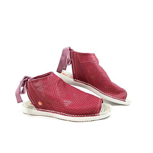 Softinos , Damen Sandalen Rot rot, Rot - rot - Größe: 40 EU