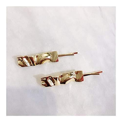 Ddcjc Pinzas For El Cabello De Metal Geométrico Imitación Irregular Perlas Horquillas Accesorios For El Cabello For Mujeres Niñas Barrettes Pinza For El Cabello Pretty (Color : C)