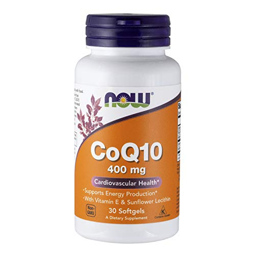 Now 400mg Coenzyme Q10 30 Softgels