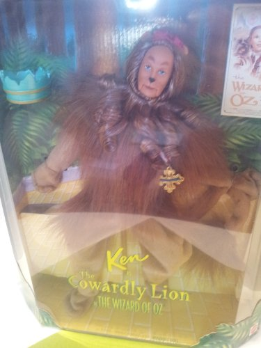 Barbie Ken as the Cowardly Lion in the Wizard of Oz (Collector Edition) -  Mattel, 16573