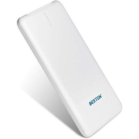 BESTON モバイルバッテリー Portable Charger 大容量急速充電器 薄型 PSE認証済 10000mAh 2USB充電ポートiPhone/ iPad/Galaxy/Xperia/Nexus/PSvita/タブレット/ゲーム機 等対応