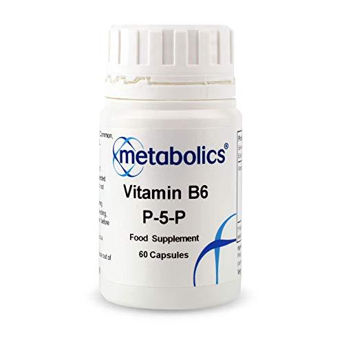 Vitamin B6 P5P- 60 Capsules | B6 Capsules | 34mg B6 Per Capsule