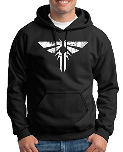 TShirt-People Firefly Armed Wing Pull à capuche pour homme - Noir - X-Large