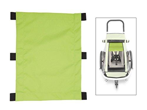 Croozer Unisex– Erwachsene Sonnensegel-3092020600 Sonnensegel, grün, One Size