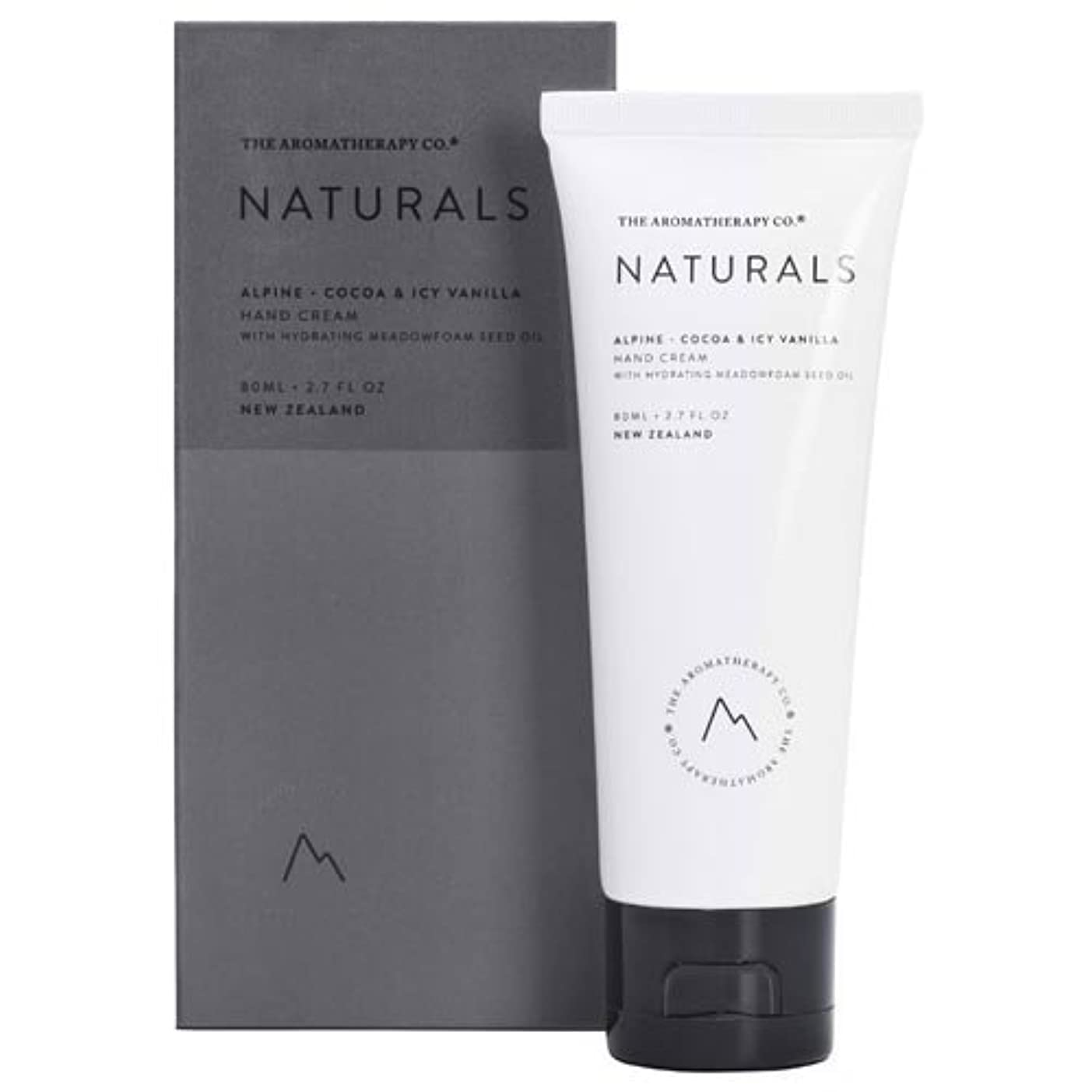 伝導懸念編集者new NATURALS ナチュラルズ Hand Cream ハンドクリーム Alpine アルパイン(山)Cocoa & Icy Vanilla ココア&アイシーバニラ