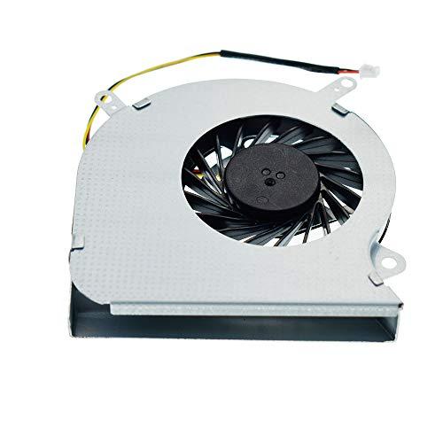 DREZUR Ventilador de CPU compatible con MSI GE60 MS-16GA MS-16GC MS-16GH MS-16GF MS-16GD Series Laptop