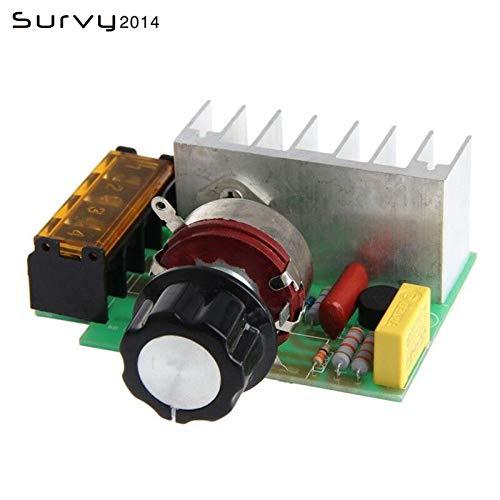 Hohe Qualität AC 220 V 4000 Watt SCR Spannungsregler Dimmen Dimmer Drehzahlregler Thermostat für Arduino