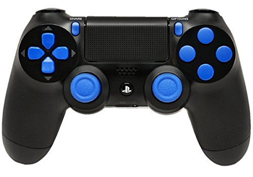 Blue Out PS4 Rapid Fire Modded Controller, Works With All Games, COD, Rapid Fire, Dropshot, Akimbo & More