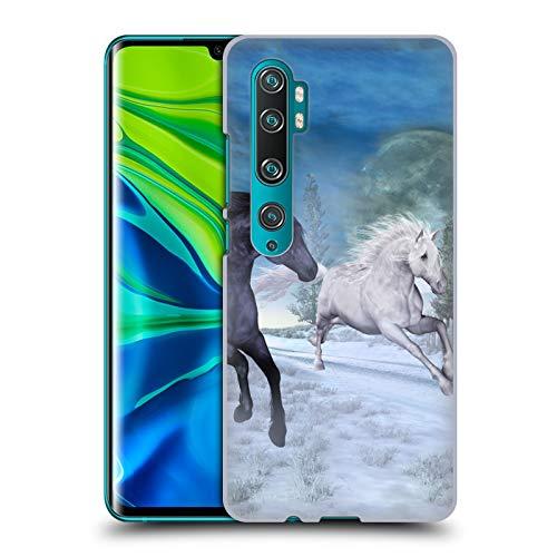 Officiële Simone Gatterwe Vrijheid In De Sneeuw Paarden Hard Back Case Compatibel voor Mi CC9 Pro/Mi Note 10 / Pro