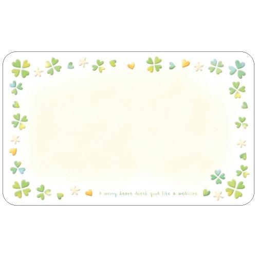 タカ印 メッセージ カード 16-883 ファンタジー カラフルクローバー 100枚