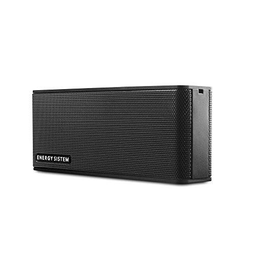 Energy Sistem Music Box B2 - Altavoz portátil inalámbrico (Bluetooth, entrada de audio, manos libres, batería) negro