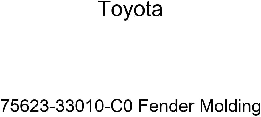 TOYOTA Genuine 75623-33010-C0 Overseas parallel import regular item Molding discount Fender