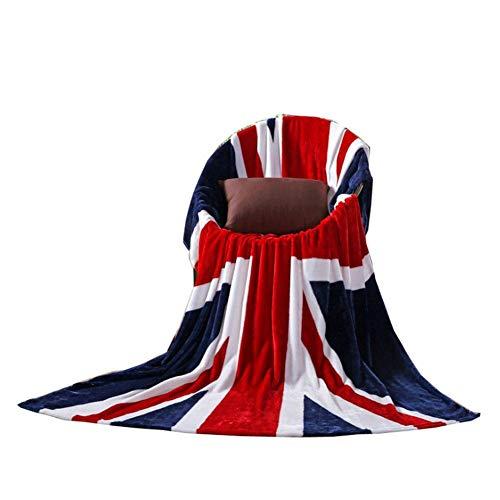 XINWO 1 manta de terciopelo de la bandera nacional grande para aire acondicionado, banco, sofá, hogar, ocio, 200 x 150 cm