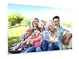 weewado Foto-Leinwand - Leinwandbild mit eigenem Bild, Foto, Text gestalten - Personalisierte Geschenke drucken 30x20 cm Leinwandbild auf Keilrahmen