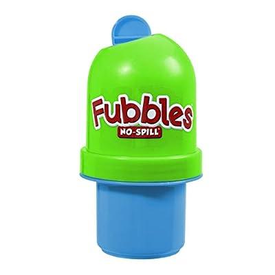 Little Kids Fubbles No-Spill Tumbler Includes 4oz Bubble Solution and Bubble Wand from Little Kids
