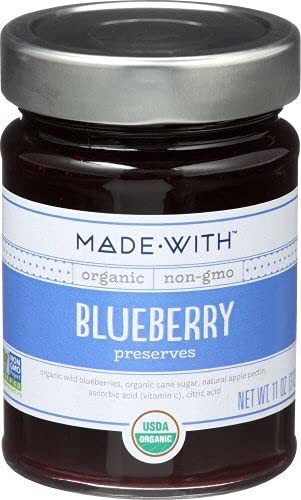 MadeWith 277119 11 oz Blueberry Pack Preserve44; 6 Organic of Max 65% OFF Ranking TOP5