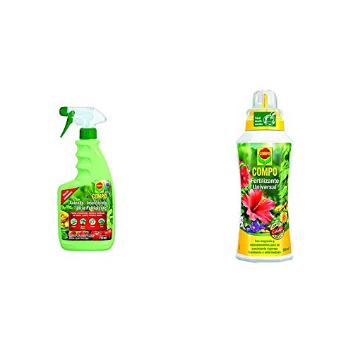 Compo Axiendo insecticida polivalente, Para plantas de interior y exterior + calidad para plantas ornamentales de interior o terraza