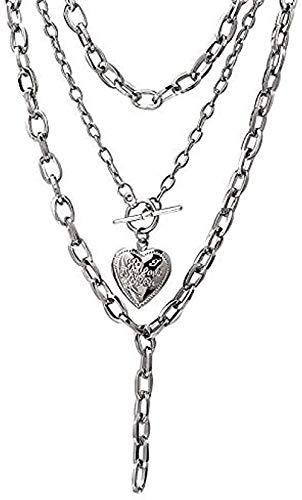 LBBYLFFF Halskettenmode in Windeln mit Liebesgeschenken für Frauen