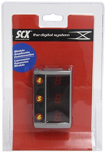 Scalextric Digital System - Módulo de ampliación de cuentavueltas hasta 6 Coches (25010)