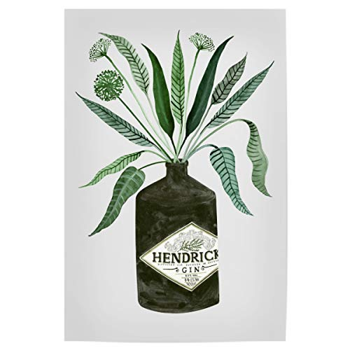 artboxONE Poster 30x20 cm Essen & Trinken/Alkohol Ginspiration Zwei hochwertiger Design Kunstdruck - Bild Gin Gin