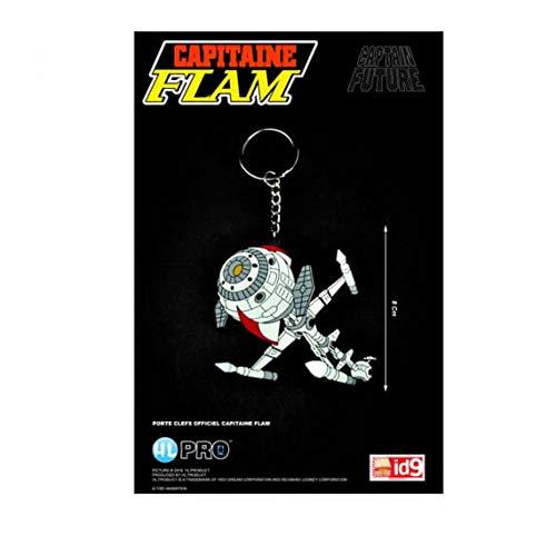 High Dream - Porte Clé Capitaine Flam - Cyberlabe / Future Comet Gomme 8cm - 4589504961506