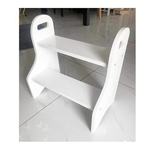 Deux Step Up Step Stool Child Bench , Chaise De Travail Intérieure En Plein Air Échelle D'escalade Pet Échelle Toddler Toilette Pour Bureau À La Maison Placard Cuisine Squat Salle De Bains