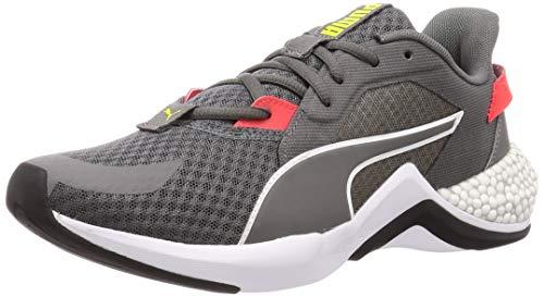 PUMA Tênis masculino Zapatillas Running De Competición, OS, Gris Castlerock Lava Blast 04, 10
