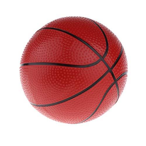 16cm Mini Pelota de Baloncesto de Vinilo Hinchable Juguete para Desarrollo de Hiabilidad Motora de Niños