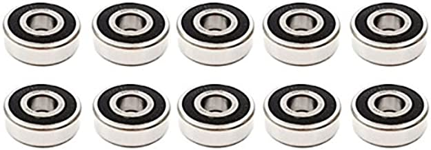 10x 1630 2RS Rubber Sealed Deep Groove Ball Bearings - 3/4