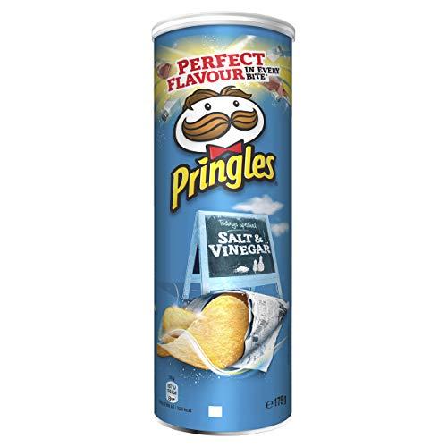 Pringles Salt & Vinegar 175 Gr – Cassa da 19 tubi