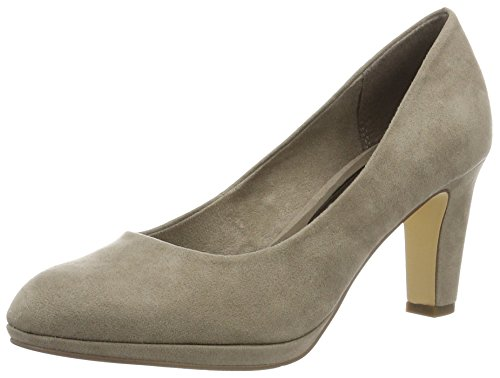 Tamaris Damen 22420 Pumps, Braun (Pepper 324), 36 EU