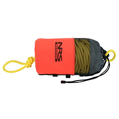 NRS Standard Rescue Throw Bag (Orange, 3/8IN x 75 FT)