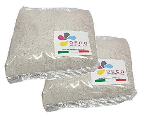 Sabbia Colorata per Decorazioni mm. 0,3/0,7 Confezione da 2 kg. (Beige Naturale)