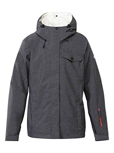 Quiksilver Jetty System - Chaqueta de esquí para mujer, color gris, talla S