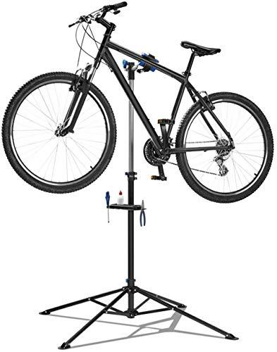 Crivit - Soporte de Montaje para Bicicleta (Carga máxima de 30 kg, Altura Regulable)