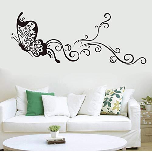 Caligrafía árabe islámica musulmana citas famosas pegatinas de pared sala de estar dormitorio Fondo decoración del hogar vinilo