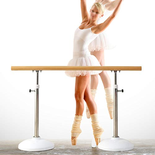 Wall Sculptures Ballet Equipment Ballet Bar Portable Dance Barre Freestanding ballet barres Adjustable Ballet Barre for Home Yoga Studio Great for home, schools, dance studios.