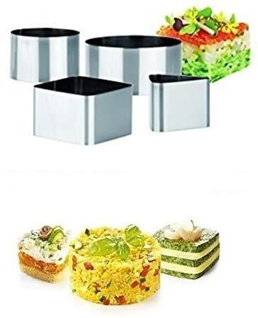 Tescoma 1 Confezione COPPAPASTA Grand Chef 4 Forme Stampo in Acciaio Cucina CASA